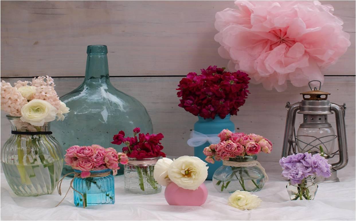 Tiendas de flores de la boda