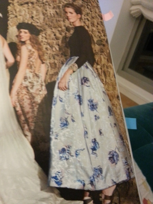 falda larga tobillera dior invitada boda elegante