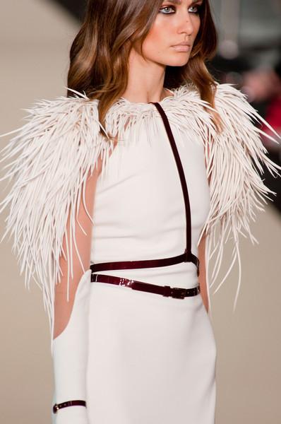 vestido novia stephane rolland plumas